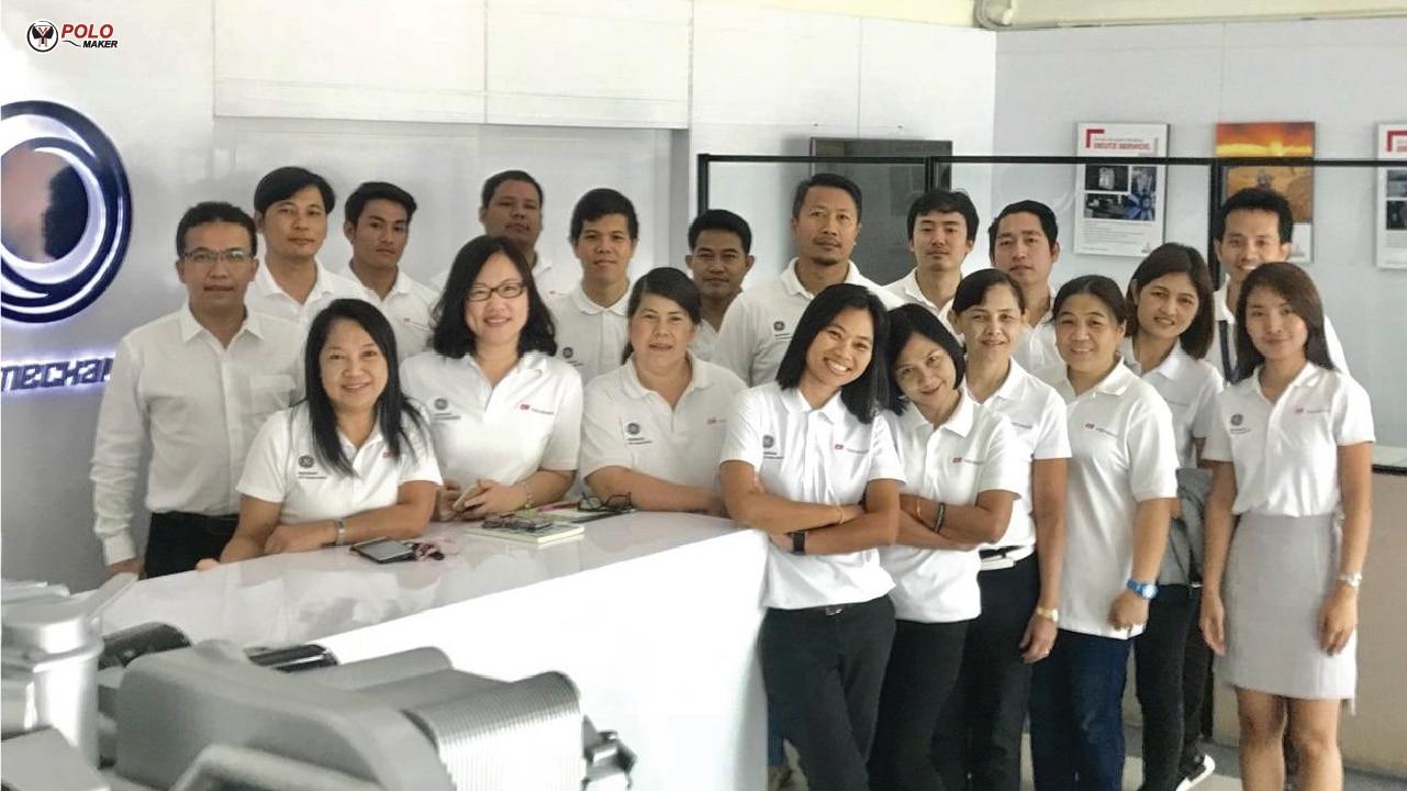 ทีมงานรับทำเสื้อโปโล เสื้อทีม เสื้อยูนิฟอร์ม 8