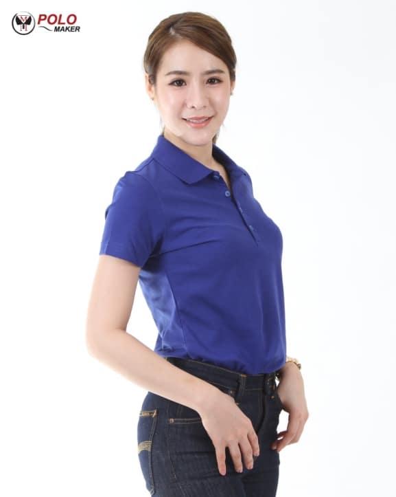 เสื้อโปโล Coolplus ผู้หญิง CP pmkpolomaker04