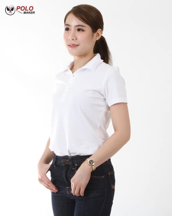 เสื้อโปโล CP01 ผู้หญิง pmkpolomaker