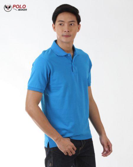 เสื้อโปโล COOLPLUS CP06 ผู้หญิง สีฟ้า pmkpolomaker04