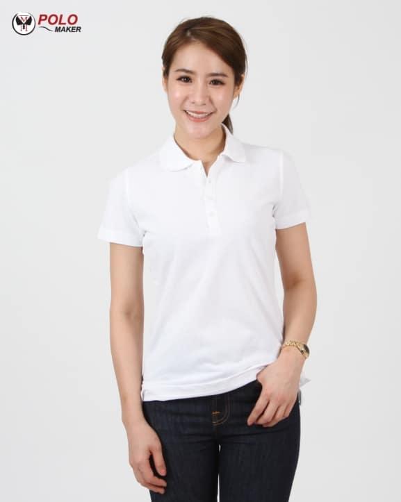 เสื้อโปโล CQ01 ผู้หญิง pmkpolomaker