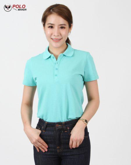 เสื้อ CQ026 เสื้อโปโลผู้หญิง pmkpolomaker