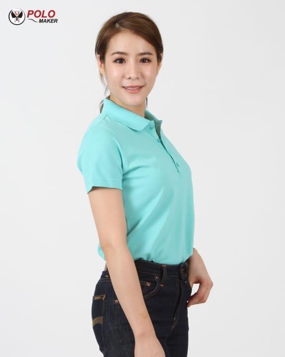 เสื้อ CQ026 เสื้อโปโลผู้หญิง04 pmkpolomaker
