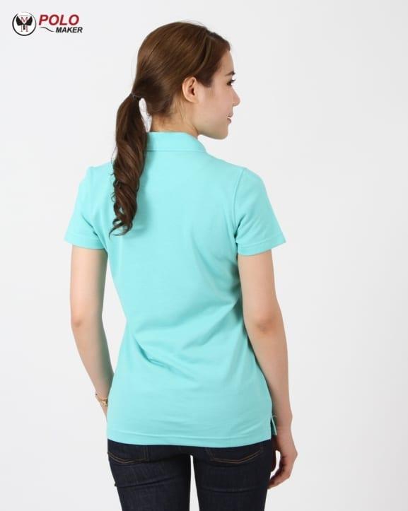 เสื้อ CQ026 เสื้อโปโลผู้หญิง02 pmkpolomaker