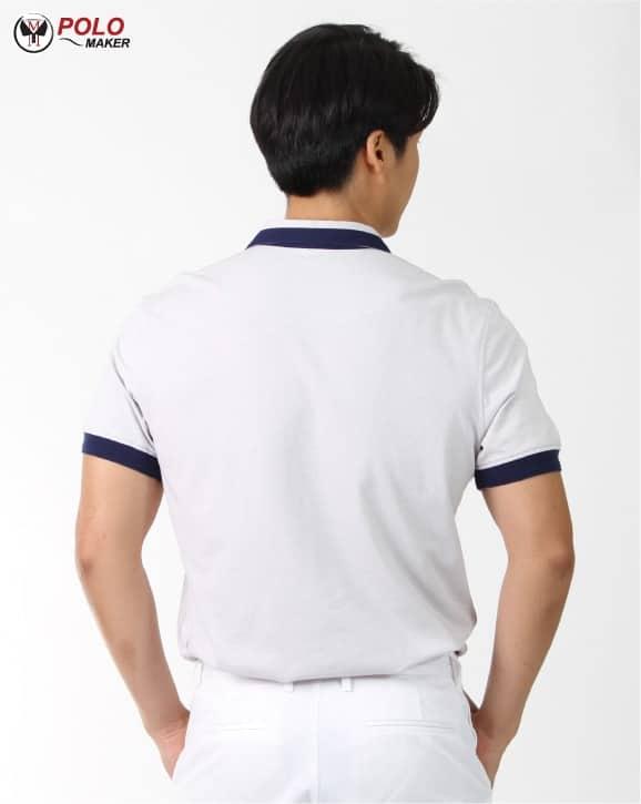 เสื้อ CoolPlus Cozy ผู้ชาย สีขาว CZ001 PMKpolomaker