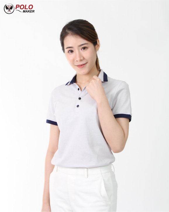 เสื้อโปโล CoolPlus Cozy ผู้หญิง02 pmkpolomaker