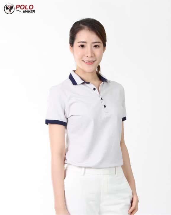 เสื้อโปโล CoolPlus Cozy ผู้หญิง03 pmkpolomaker