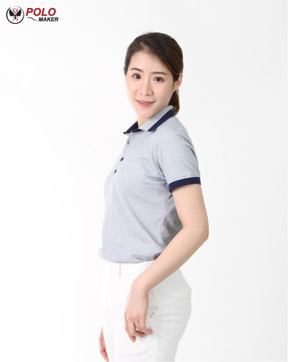 เสื้อโปโลผู้หญิง Cozy 002 pmkpolomaker03