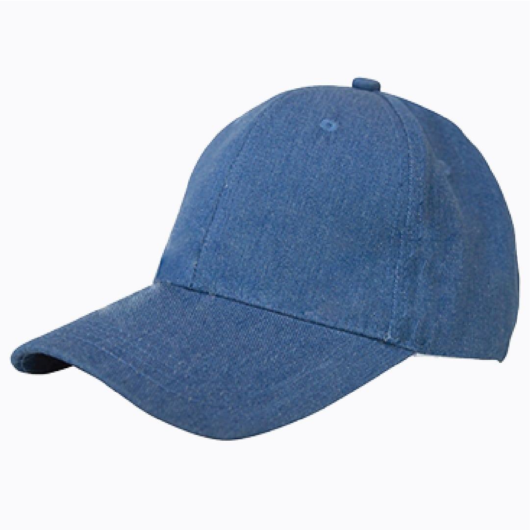 สั่งทำหมวกผ้ายีนส์ ปักสกรีนหมวก pmkpolomaker