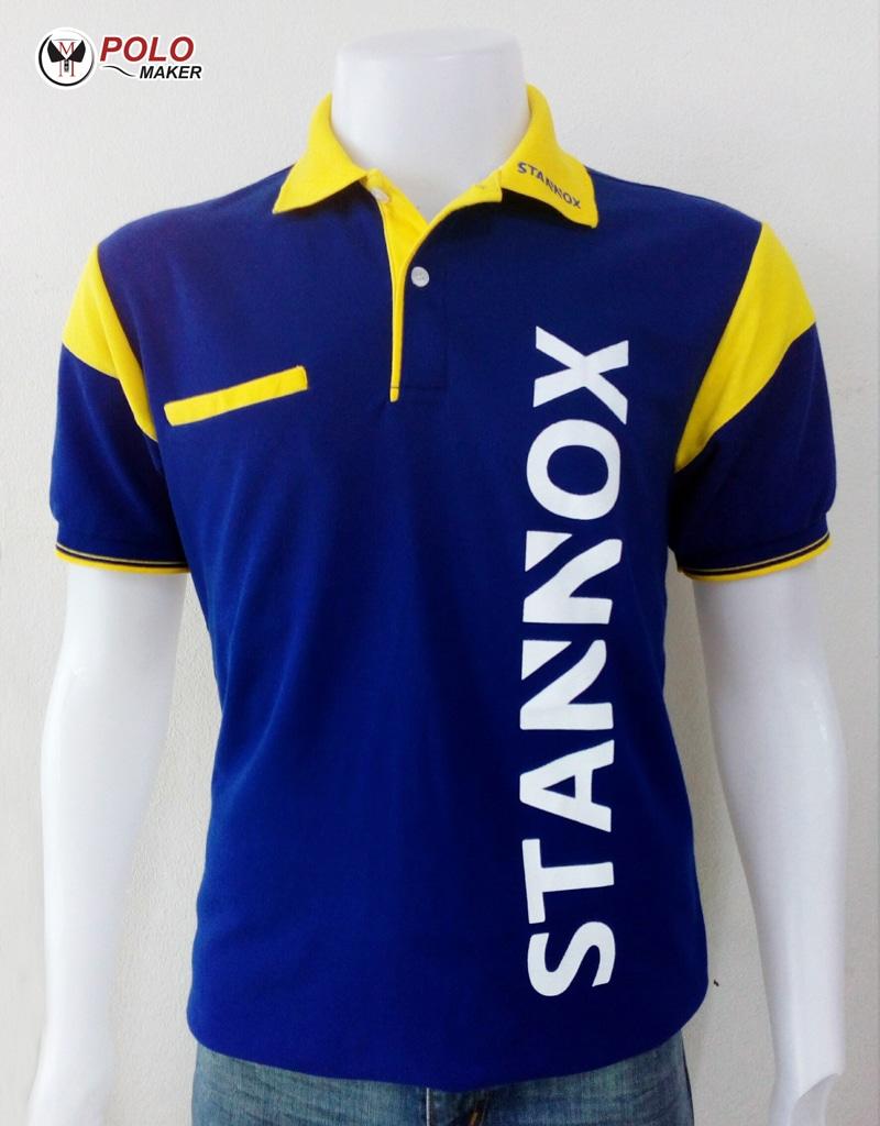 ตัวอย่างเสื้อโปโล PMK Polomaker แบบที่ 2