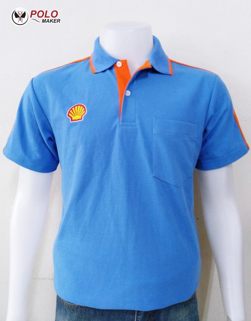 ตัวอย่างเสื้อโปโล PMK Polomaker แบบที่ 14