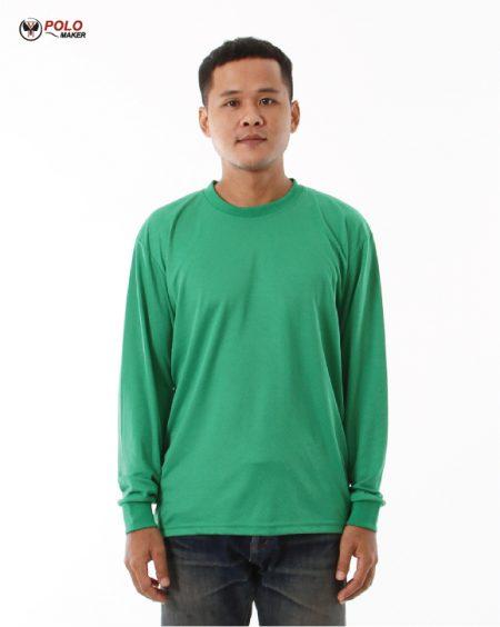 เสื้อคนงานแขนยาว lpi สีเขียว pmkpolomaker