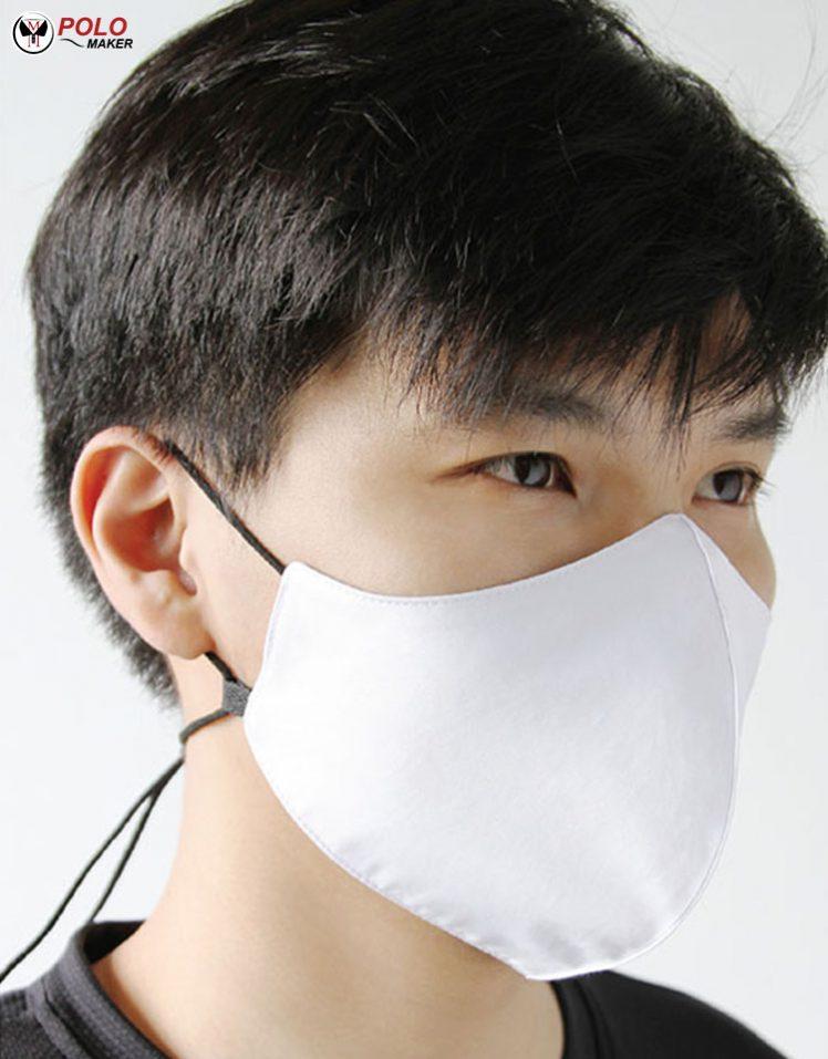 หน้ากากผ้ามีสายคล้องคอ pmkpolomaker
