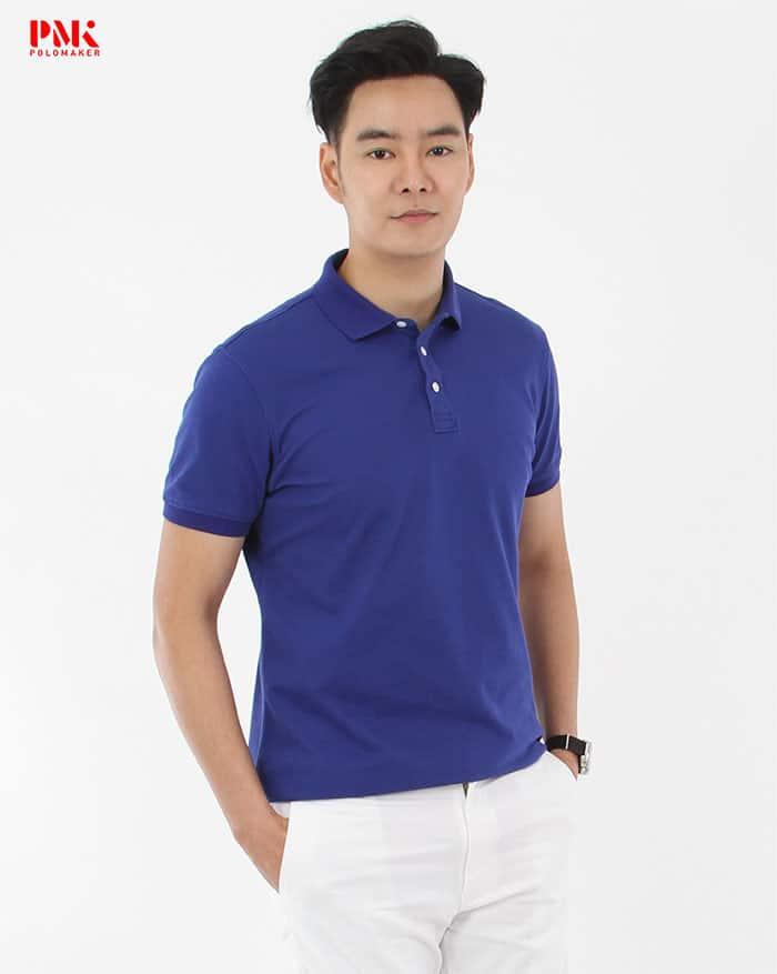 เสื้อโปโลพรีเมี่ยมผ้าCoolPlus CQA